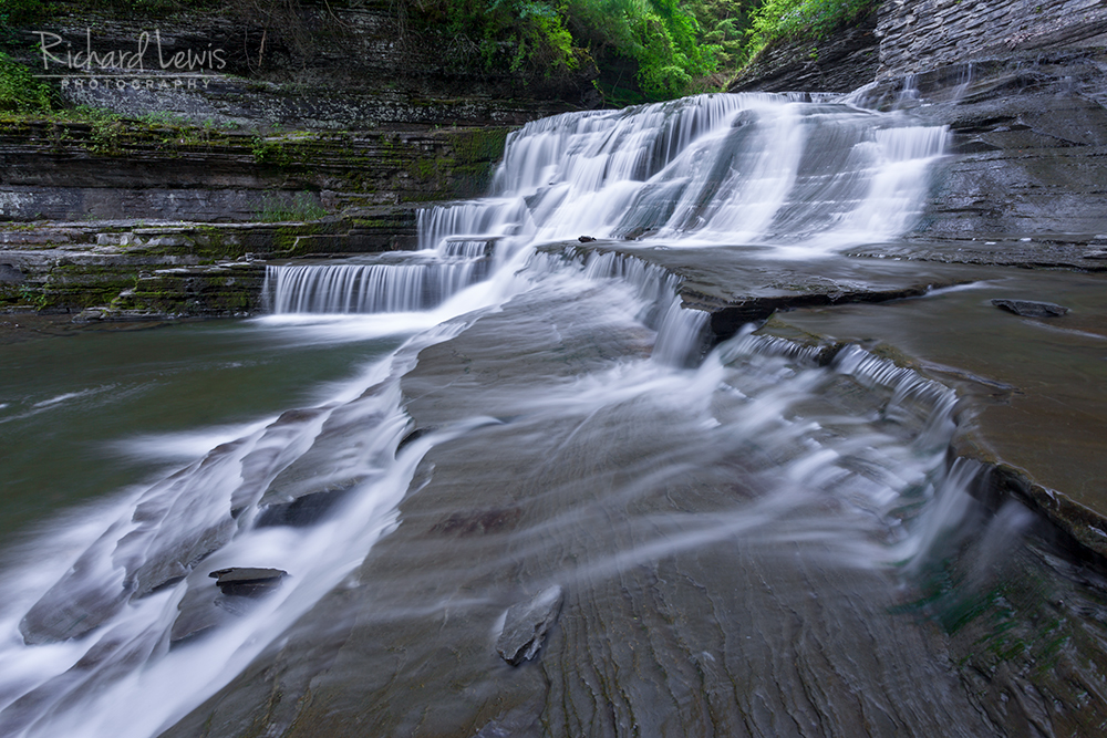 Lucifer Falls Tremont State Park Finger Lakes Ithaca