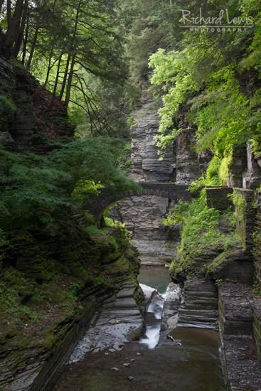 Treman Falls State Park Finger Lakes Ithaca