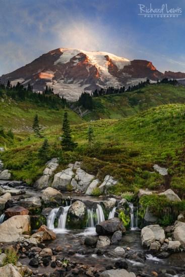 Myrtle Cascade Mt Rainier