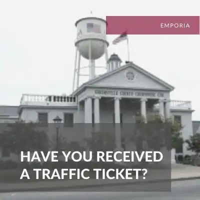 Emporia Traffic Ticket Attorney