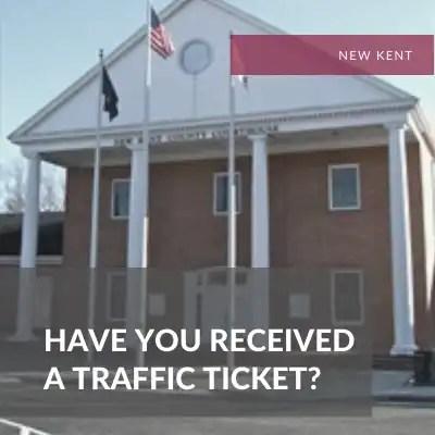 New Kent Traffic Attorney
