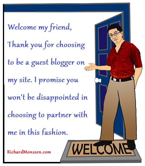 welcome guest author