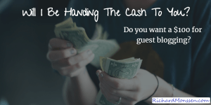 Get Paid $100 Guest Author Competition