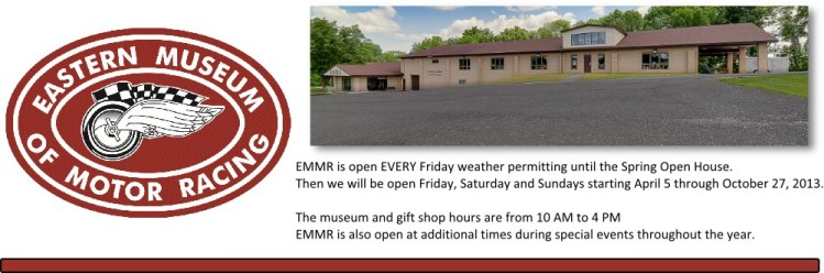 EMMR - Eastern Museum of Motor Racing