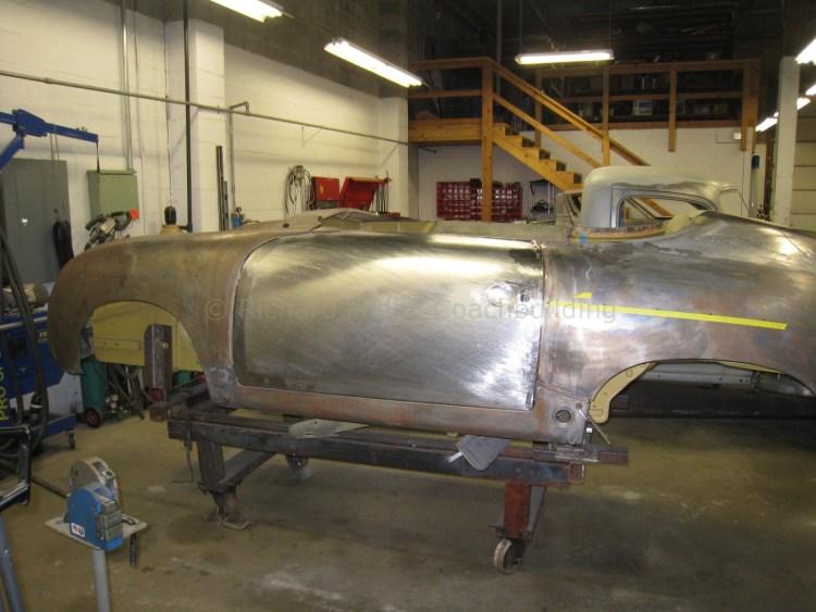 356 Porsche Speedster Door Skin and Dashboard