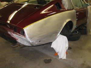 Aston Martin DB4 Rear Collision Repair
