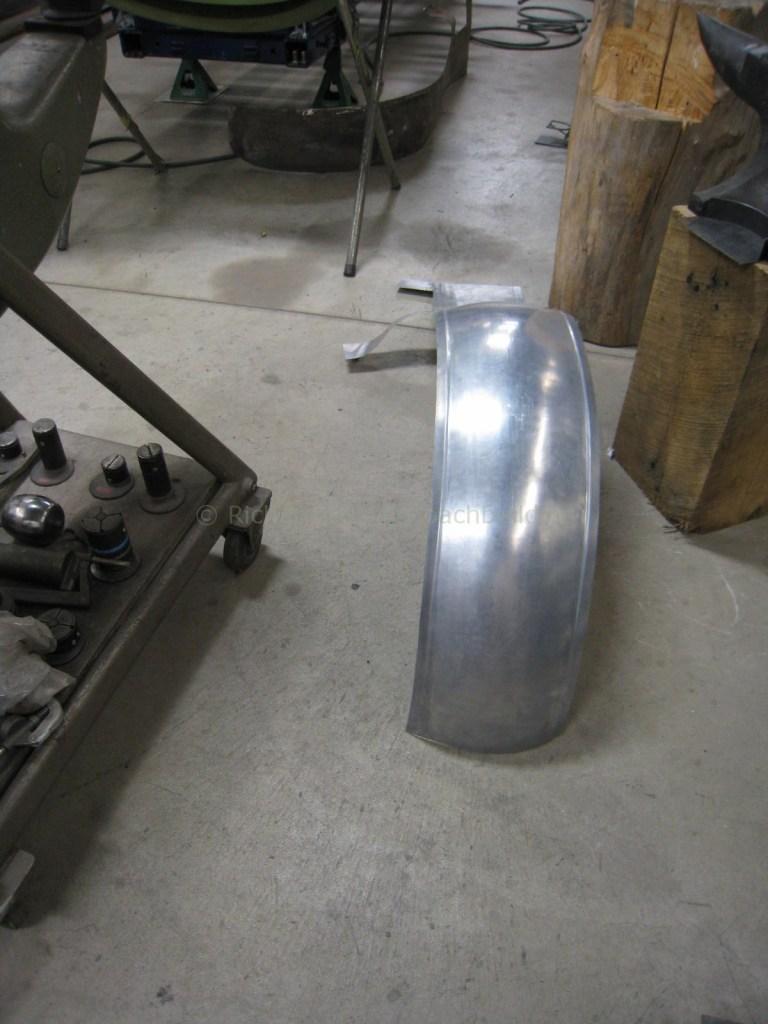 Derby Bentley Fender Construction