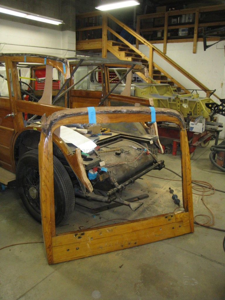 1934 Rolls-Royce Wood Reconstruction