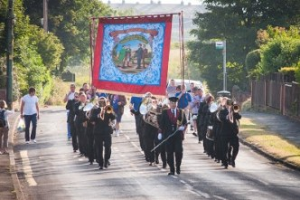 Durham Big meeting - Trimdon Grange Banner