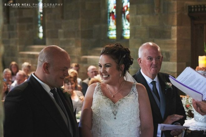 St Martins church Kirklevington wedding
