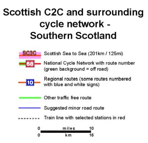 Sc C2C overview map key
