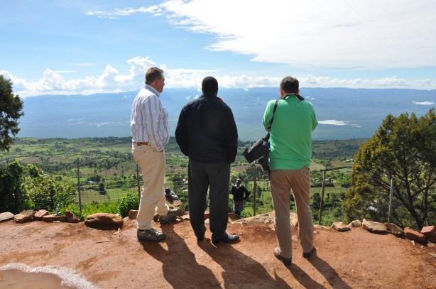 Uitzicht over Kerio Valley