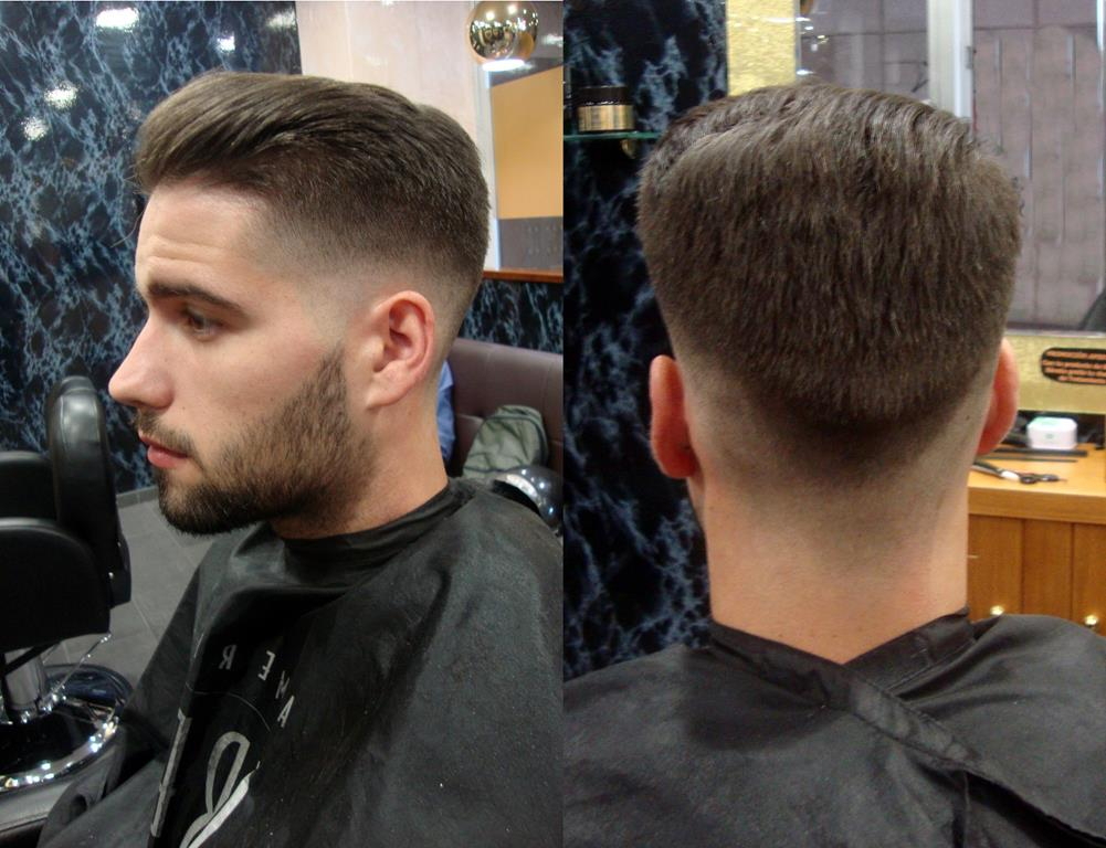 Corte de pelo para chicos en Barbería Richard's Coruña