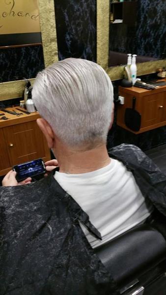 Diferentes acabados de cuello y nuca en cortes de pelo de caballero