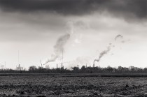 Exxon Mobil Refinery from Port Allen, Louisiana, 2015