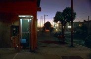 Telephone Booth at Twilight, Sunset District, San Francisco, 1977
