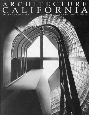 Architecture California Cover