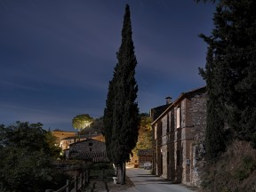 Lucignano D'Asso at Night, 2011