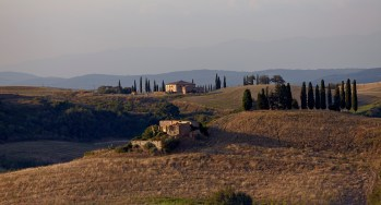 Landscape with San Alessandro and Collapsing Farm Building, 2011