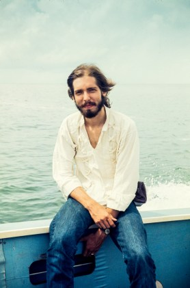 Richard Sexon in the Caribbean, 1974