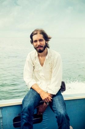 Richard Sexon in the Caribbean, 1974