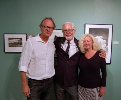 From left to right: Evert Witte, Richard Sexton, Sandra Russell Clark