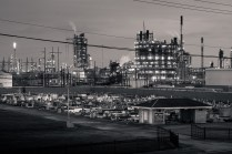 Holy Rosary Cemetery adjacent to Taft Carbide chemical plant; Taft, LA