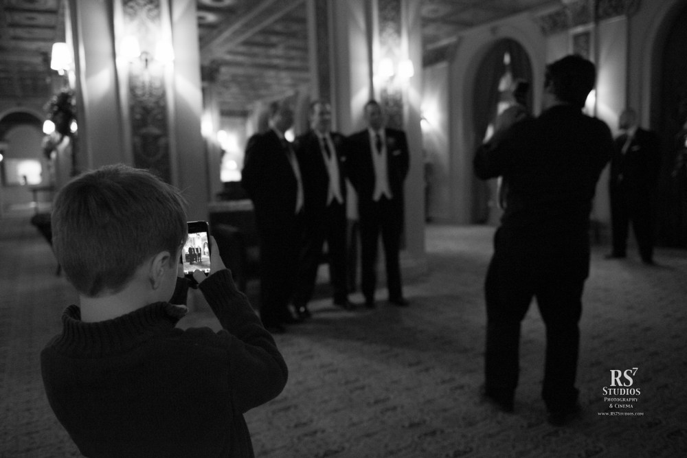 Getting the shot at the wedding, as a photojournalist…