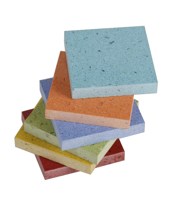 Engineered stone samples
