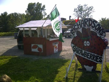 Godfather's Market Stand in Dunnville
