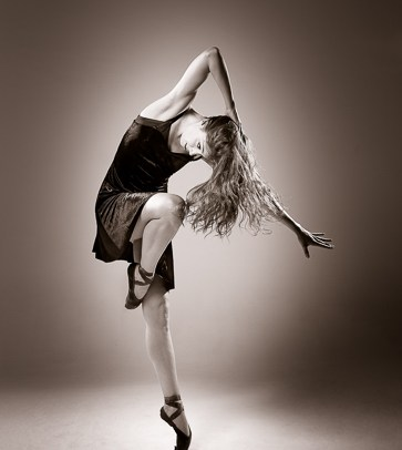 contemporary dance shapes