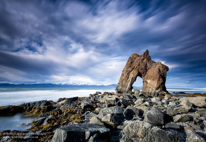 rock arch Iceland