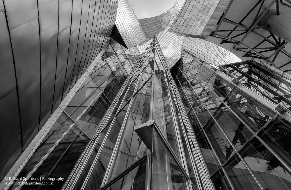 Bilbao glass and steel