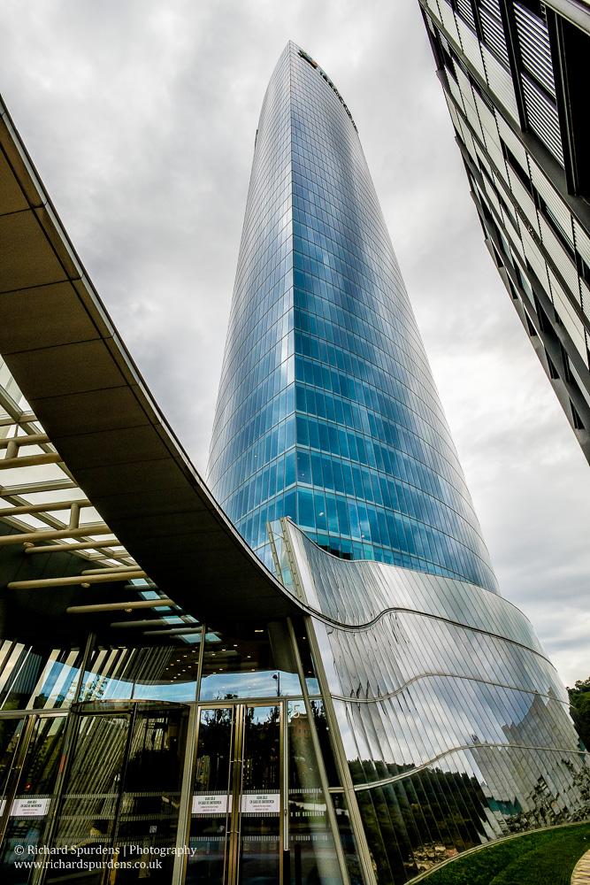 the Iberdrola tower