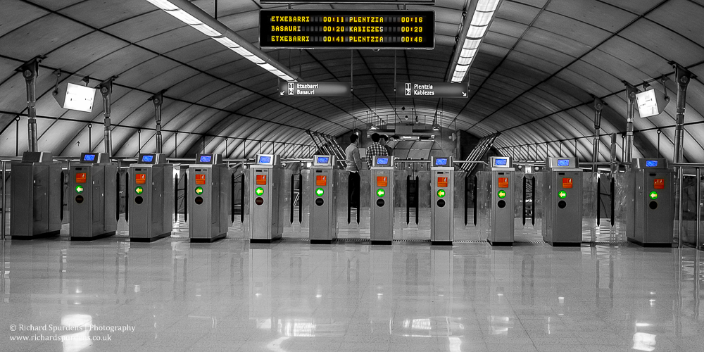 ticket barrier pop