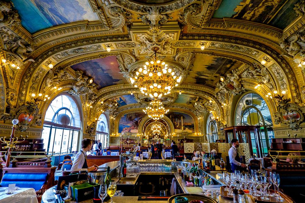 le train bleu restaurant interior I