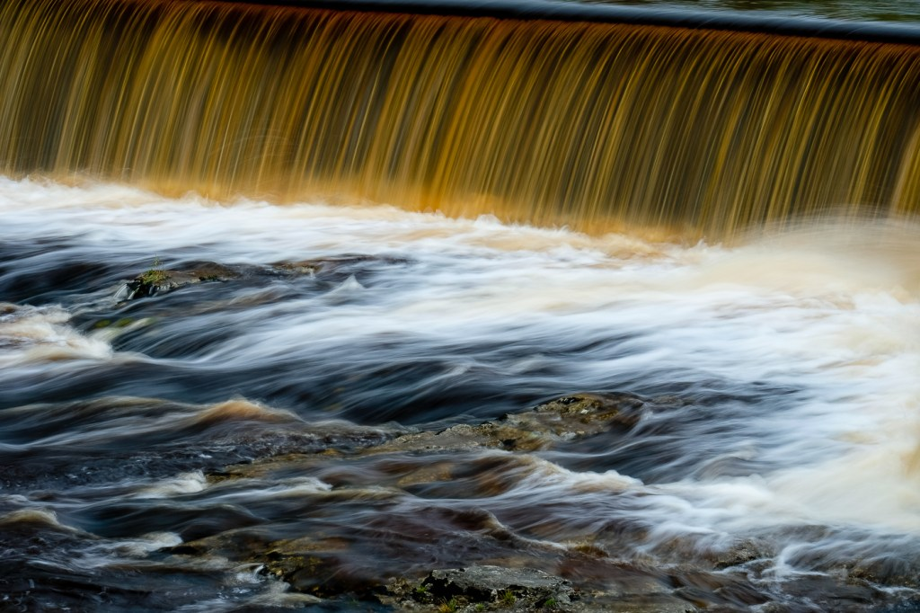 water the colour of Peat II