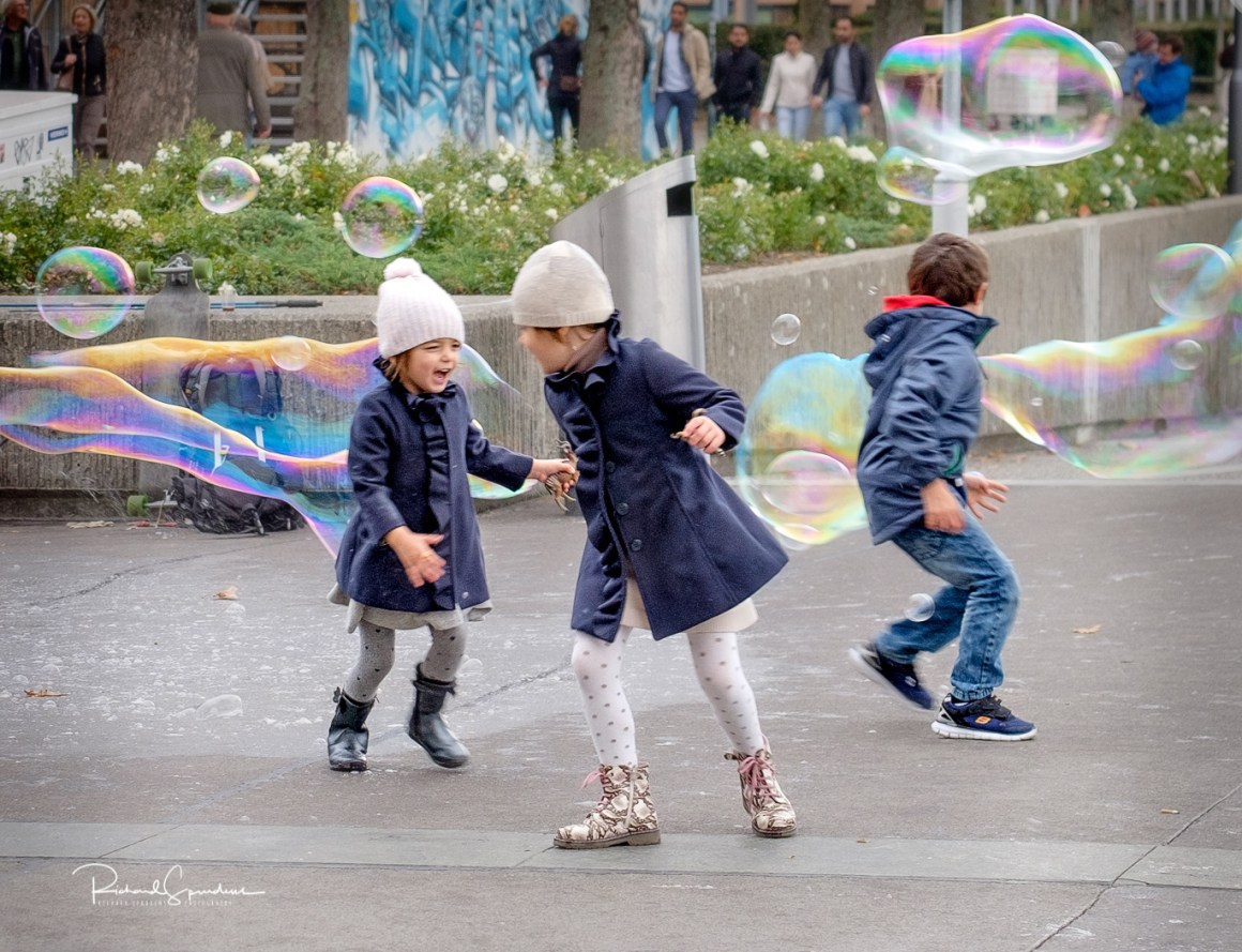 Zurich bubble fun III