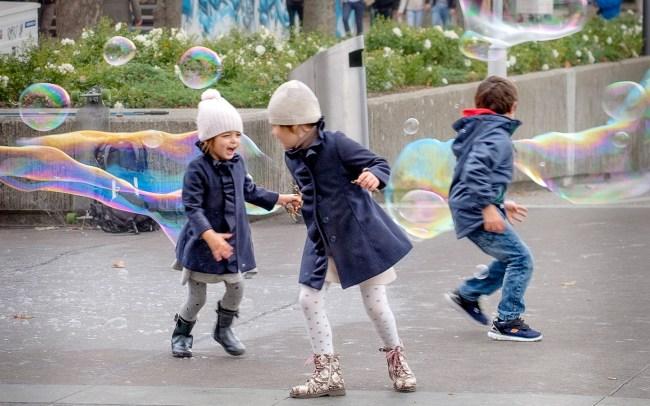 Zurich bubble fun III