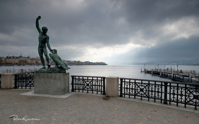Zurich ganymed sculpture I