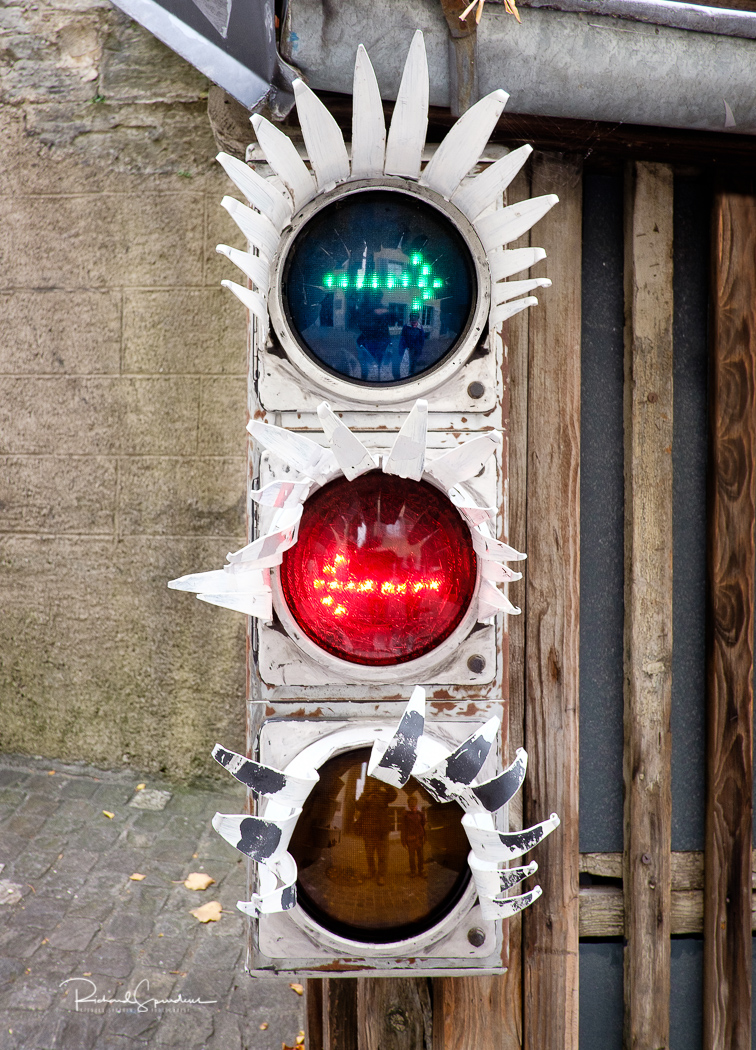 Zurich traffic light confursion