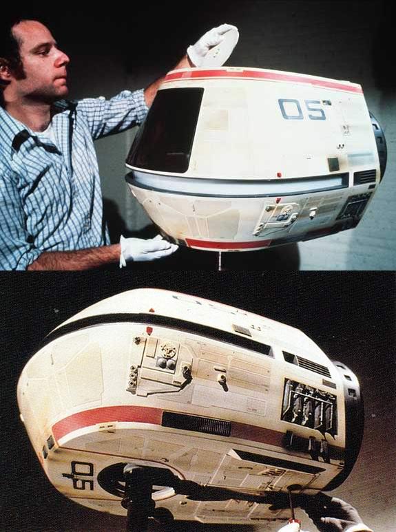Transport Pod Model.   1979