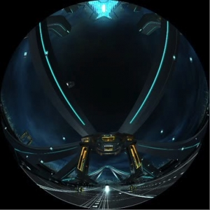 TRON LEGACY.  3D Dome Demo Part 2