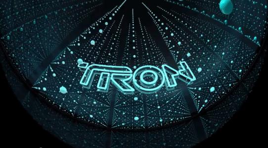 TRON LEGACY.  3D Dome Demo Part 1