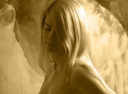 blonde sensual