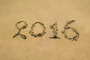 2016 scratched in sand