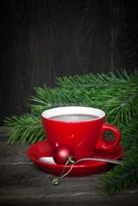 coffee at Christmas