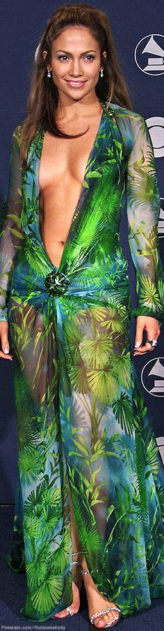 Donatella Versace Wore Jennifer Lopez