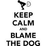 Keep Calm and Blame the Dog