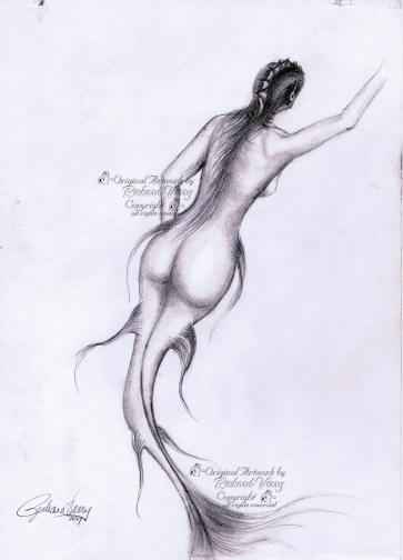 Mermaid Below